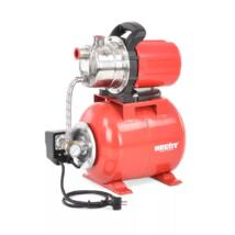 Házi vízmű hidrofor tartály szivattyú 3 bar 1000 W Hecht 3101 Inox
