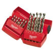 Csigafúró készlet HSS-G DIN 338 25 részes 1,0-13,0mm MILWAUKEE