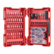 Csavarozó bit készlet 75 részes Shockwave XL BOX (TX) MILWAUKEE