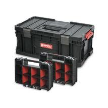 QBrick Szerszámosláda Toolbox Plus System Two és 2db Organiser Multi System Two