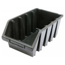 Csavartartó doboz fekete L 204x340x155mm VOREL