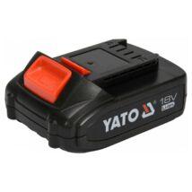 Akkumulátor 18 V 2,0-6,0 Ah Li-ion YATO