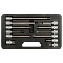 Bithegy-dugókulcs készlet 12 részes Spline 1/2 col M6-M17 YATO