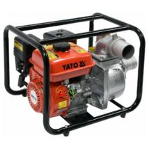 Vízszivattyú 196 cm3 4,8 LE 50 m3/h benzines YATO