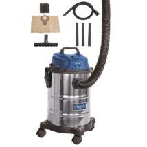 Ipari porszívó száraz-nedves porszívózáshoz 15 liter ASP 15 ES Scheppach