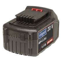Akkumulátor 20 V 4 Ah Li-ion Scheppach