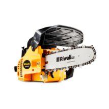 Benzines ágnyeső láncfűrész 25 cm3 motorral Riwall PRO RPCS 2530