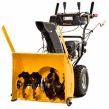 Benzinmotoros kétfokozatú hómaró 6,5 LE elektromos indítással Riwall PRO RPST 6172