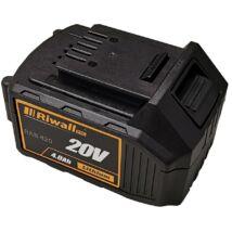 Akkumulátor 20V Li-Ion 4Ah Riwall PRO RAB 420
