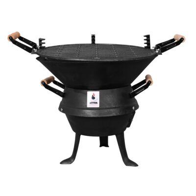 Activa Valencia faszenes grillsütő
