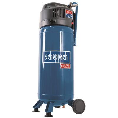 Olajmentes vertikális kompresszor 50 liter HC 51 V Scheppach