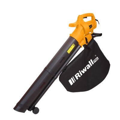 Elektromos lombszívó/lombfúvó 3200 W motorral REBV 3200 E Riwall PRO