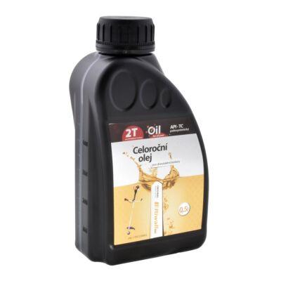 Egészéves Riwall olaj 2-ütemű motorokba 0,5 liter Riwall PRO