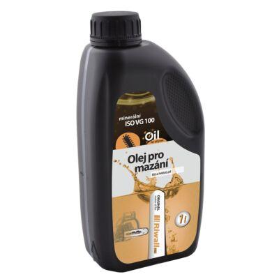 Ásványi olaj láncvezetők és láncok kenéséhez 1 liter Riwall PRO