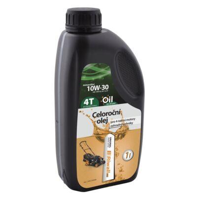 Egészéves olaj 4-ütemű motorokba 1 liter SAE10W-30 Riwall PRO